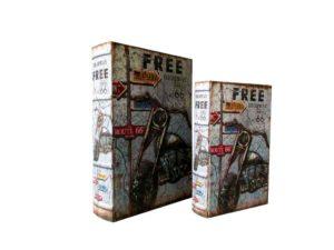 CAIXA LIVRO CL006 FREE MOTO C/2 (793)